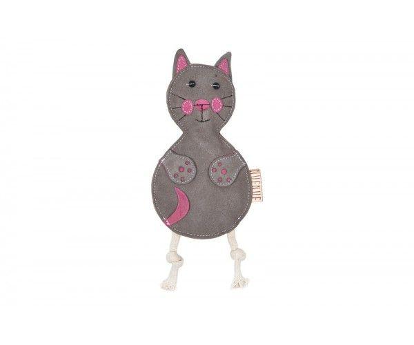 Nuf Nuf Wildleder Spielzeug Katze