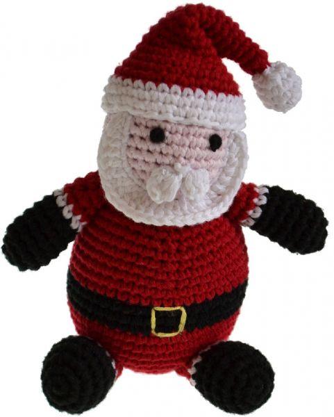 Pepper's Choice Weihnachtsmann von Hand gehäkelt