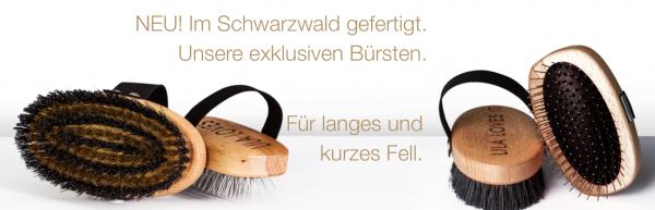 Lila Loves It Buchenholz Bürste für Langes und Kurzen Fell