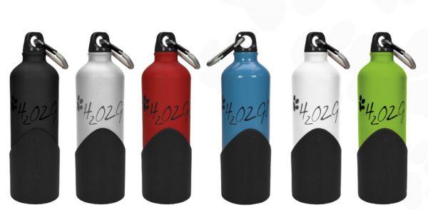 H2O2Go Hundetrinkflasche für Hund & Halter