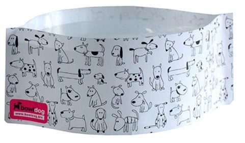 Bowldog Cartoon Faltnapf für Hunde