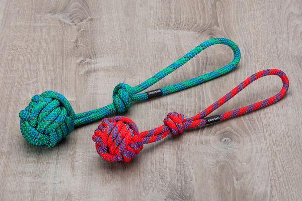 Treusinn Tau-Spielzeug BOLLY Rot oder Grün