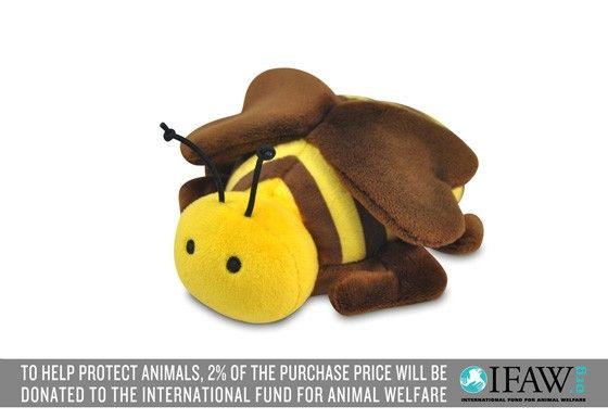 P.L.A.Y. Bugging Out Biene Plüsch Spielzeug