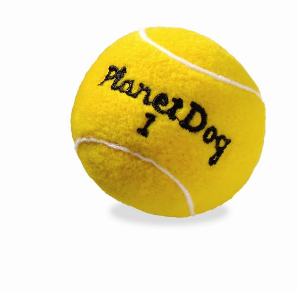 Planet Dog Squeaky Sport Tennis Ball