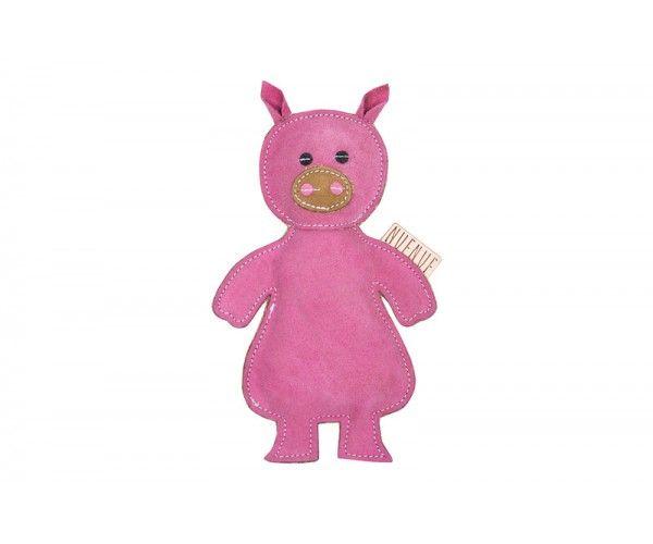 Nuf Nuf Wildlederspielzeug mit Quietscher Schwein