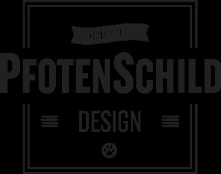 Original Pfotenschild Design