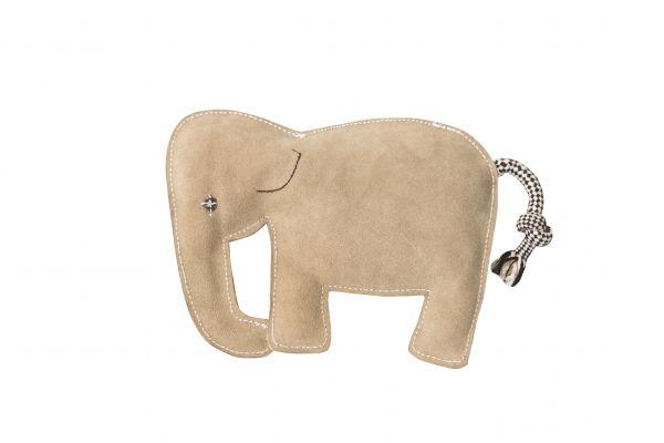 Nuf Nuf Wildlederspielzeug Elefant