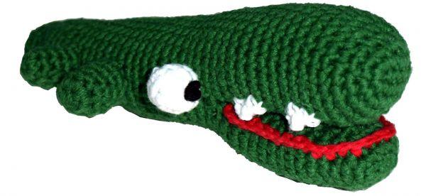 Pepper's Choice Krokodil von Hand gehäkelt