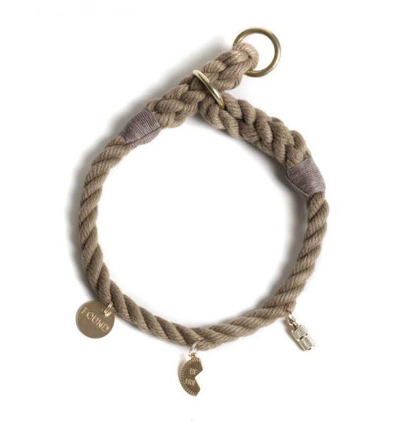 Found my Animal Zughalsband für Charms in Beige 26 cm Hals/Kopfumfang
