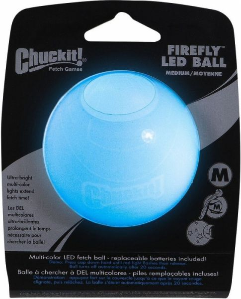Chuckit! LED Ball Firefly Multicolor