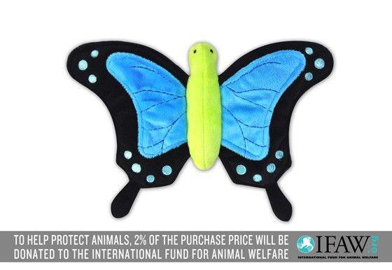 P.L.A.Y. Bugging Out Schmetterling Plüsch Spielzeug