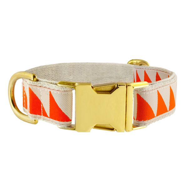 See Scout Sleep Halsband - Nice Grill - Creme/Orange