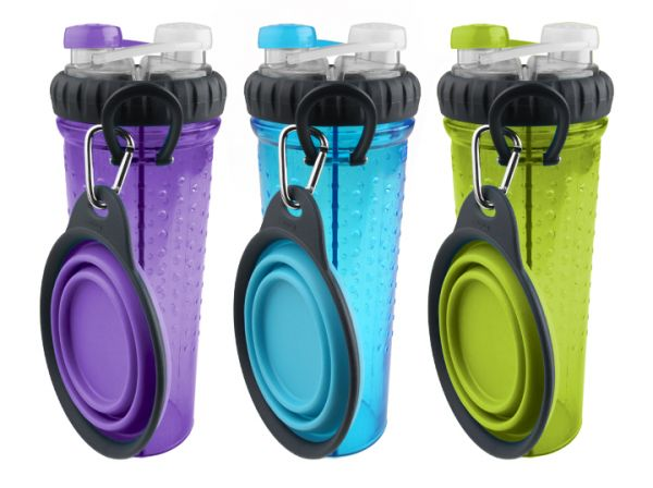 Dexas Popware H-DuO™ with Companion Cup - 2 Getränke 1 Flasche!