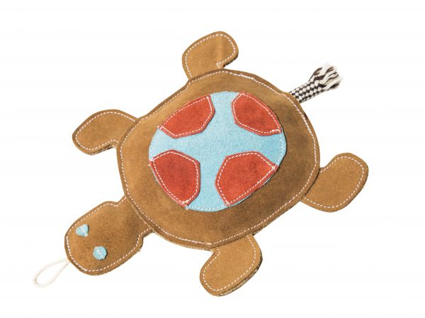 Nuf Nuf Wildlederspielzeug Schildkröte