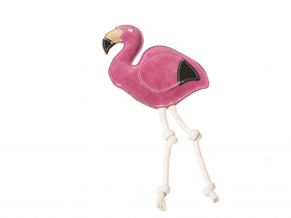 Nuf Nuf Wildlederspielzeug Flamingo