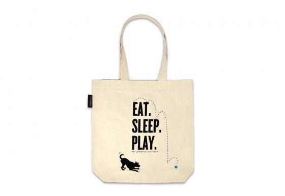 P.L.A.Y. Tote Bag Einkaufstasche
