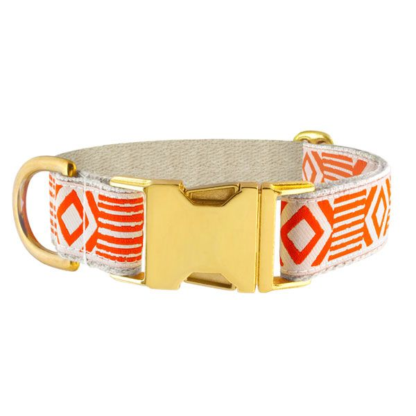 See Scout Sleep Halsband - Out of my Box - Creme/Orange