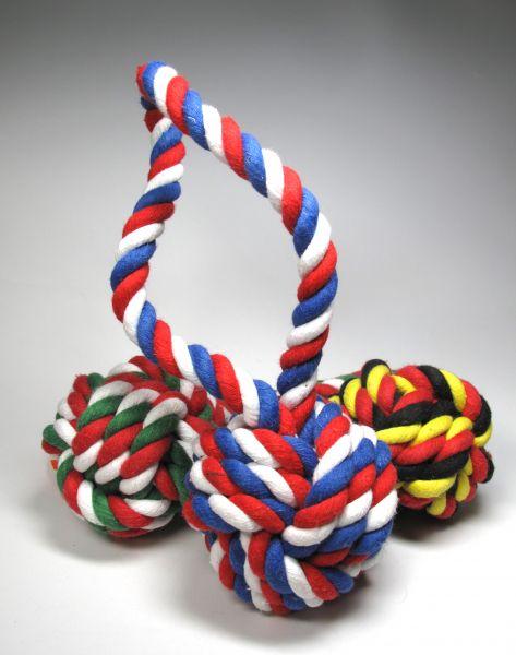 Jax & Bones Knoten Spielzeug in 3 Farben und 2 Größen