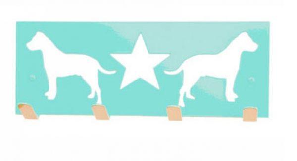 These Creatures Design Wandhaken mit Hundemotiv für Hundeleinen