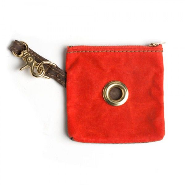 Found my Animal Multiuse Pouch Orange mit Olive