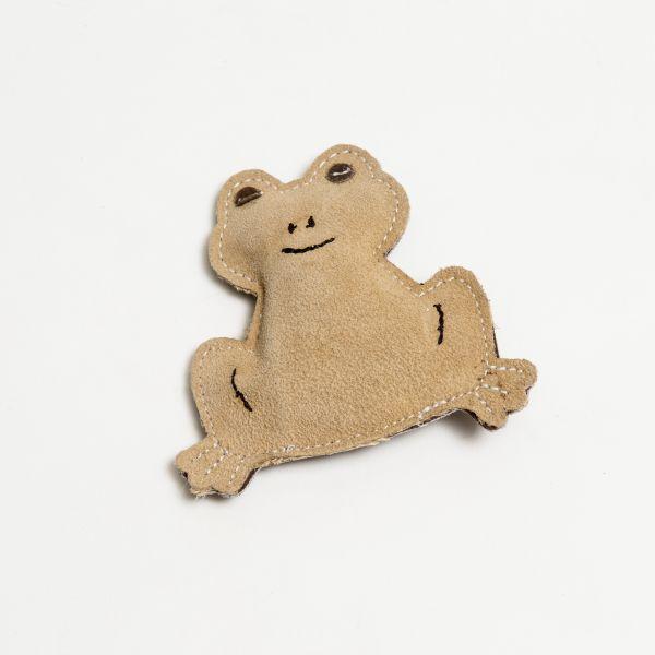 Nuf Nuf Wildlederspielzeug Kleiner Frosch