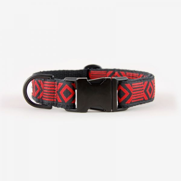See Scout Sleep Halsband OUT OF MY BOX - Black Edition Schwarz mit Rot