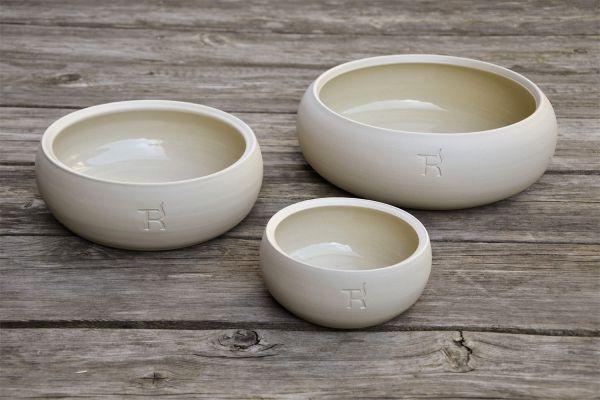 Treusinn Keramik Näpfe Natur