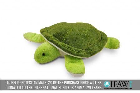P.L.A.Y. Schildkröte Plüsch Hundespielzeug