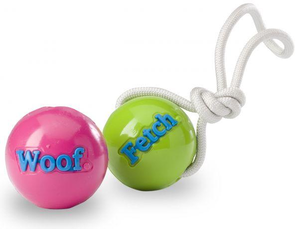 Planet Dog Orbee-tuff Fetch Ball mit Seil