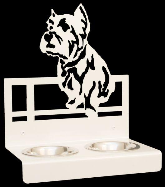 These Creatures Designnapf Westhighland Terrier für Wandbefestigung