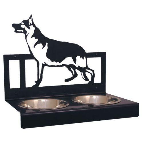These Creatures Designnapf Deutscher Schäferhund für Wandbefestigung