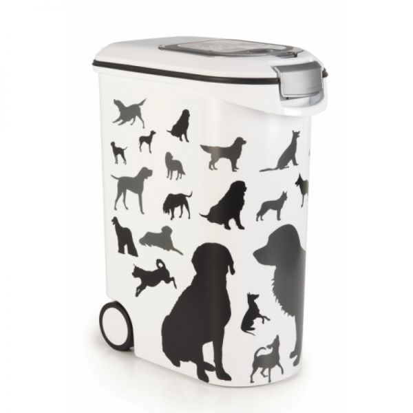 Curver Pet Life Hundefutter Container Silhouette Hund