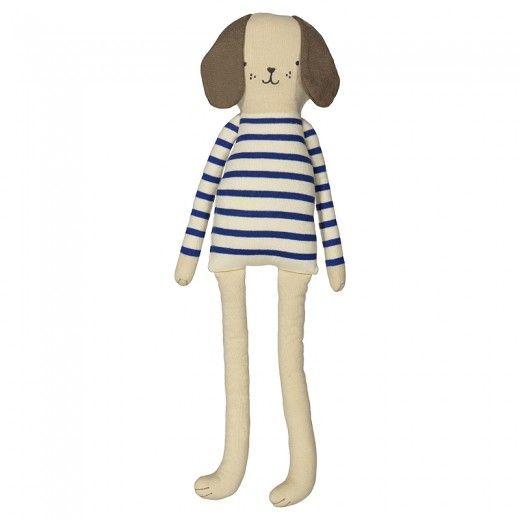 Meri Meri Gestrickter Hund mit Streifen