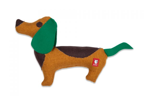 Nuf Nuf Upcycled Hundespielzeug Dackel