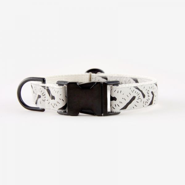 See Scout Sleep Halsband LIFE OF THE PARTY - Black Edition Creme mit Schwarz